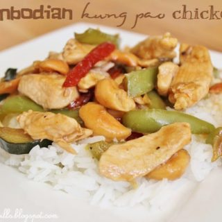 Man Mondays: Cambodian Kung Pao Chicken