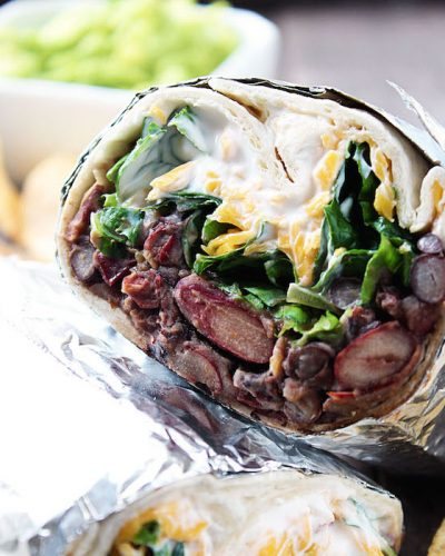 Chipotle Bean Burritos