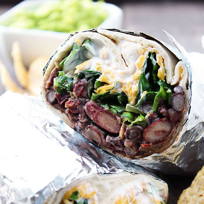 Chipotle Bean Burritos Easy Dinner Recipe High Heels And Grills