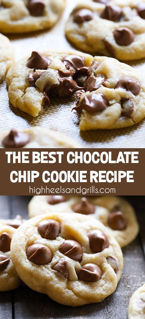 Best Chocolate Chip Cookie Recipe - so soft, chewy, and chocolatey! #chocolatechipcookie #bestcookierecipe #dessert #cookies