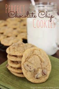 Perfect Chocolate Chip Cookies - These really are perfect. They're buttery, delicious, and always soft.