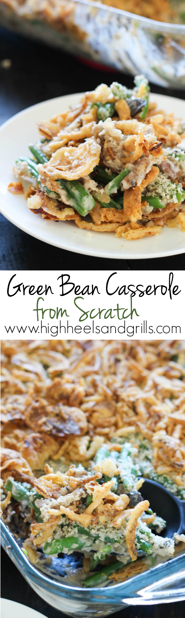 Green Bean Casserole Collage