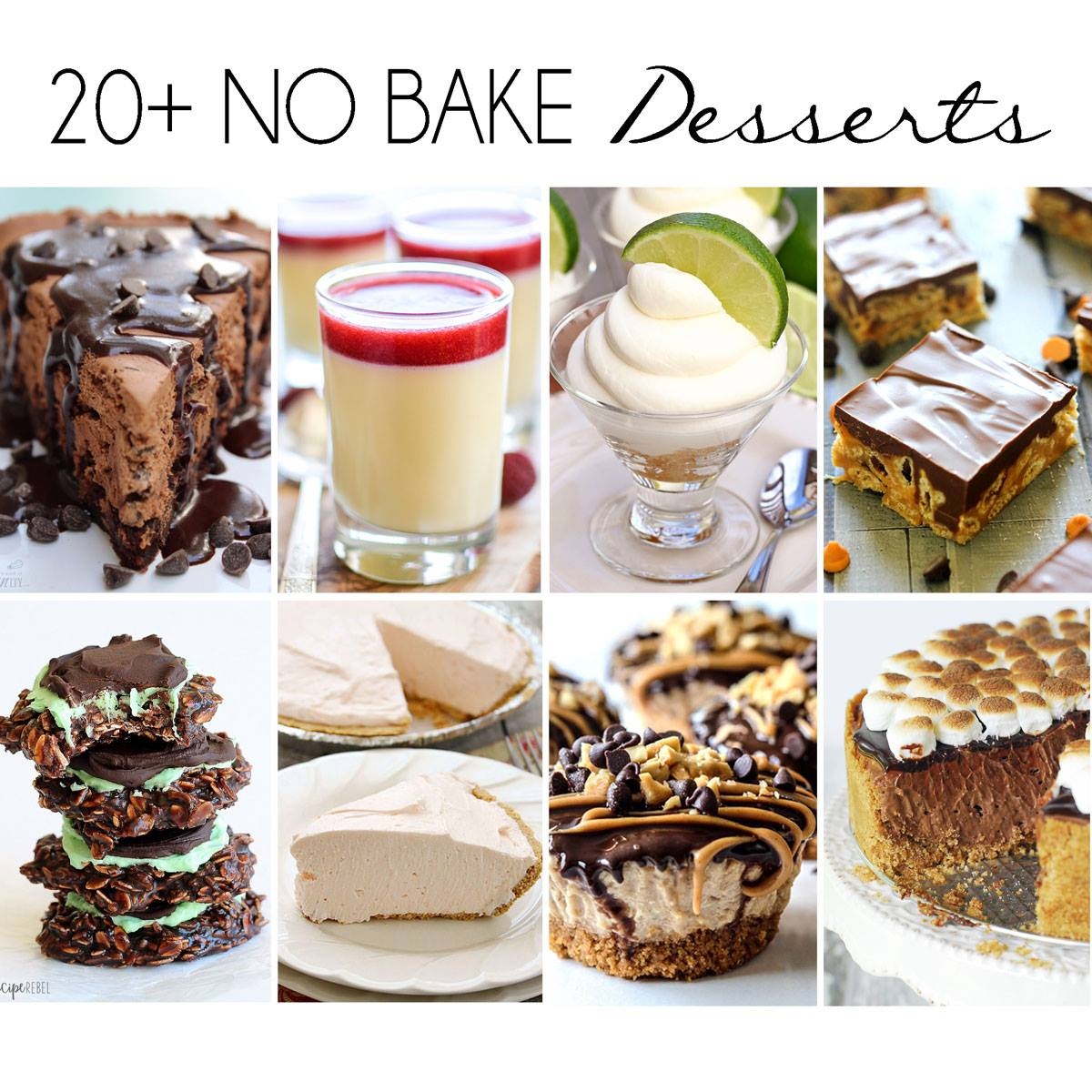 25 No Bake Dessert Recipes High Heels And Grills