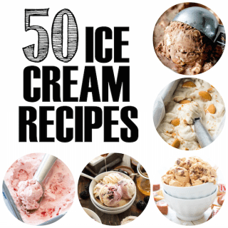 50 Ice Cream Recipes + A Kitchen Aid and Ice Cream Attachment Giveaway!