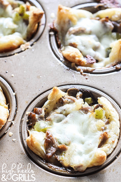 Philly Cheesesteak Cups - Easy Meal Plan Sunday #5