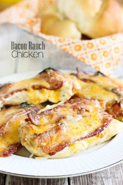 Bacon Ranch Chicken - Easy Meal Plan Sunday #4