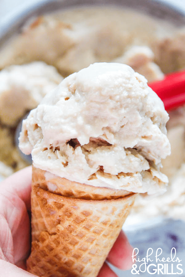 Dirty Dr. Pepper Ice Cream - Dr. Pepper, coconut, and lime makes this ice cream irresistible! #RealSeal
