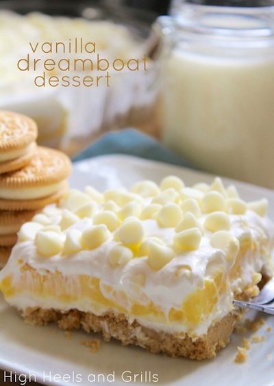 Vanilla Dreamboat Dessert - Easy Meal Plan Sunday #4