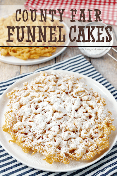 Country Fair Funnel Cakes - Easy Meal Plan #7
