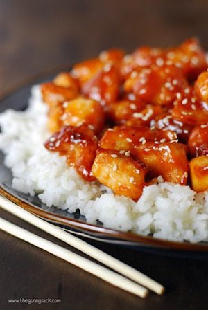 Orange Chicken - 30 Minute Back to School Meals