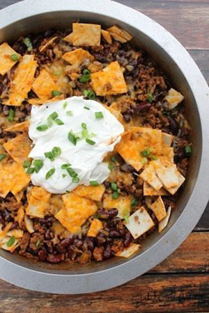 Beef Burrito Skillet - 30 Minute Back to School Meals