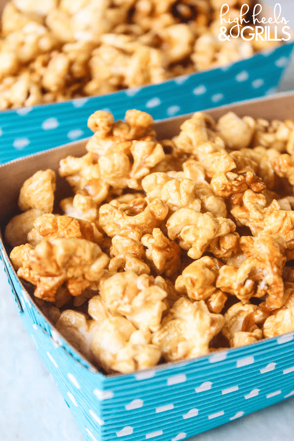 This Brown Bag Crunchy Caramel Popcorn is buttery, delicious, and so easy to make. It is all done in just the microwave, using Pop Secret Popcorn, and is a great snack idea that can be whipped up in minutes.