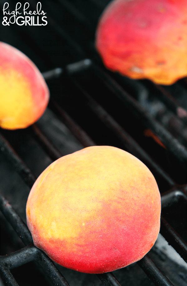 Cinnamon Sugar Grilled Peaches 3