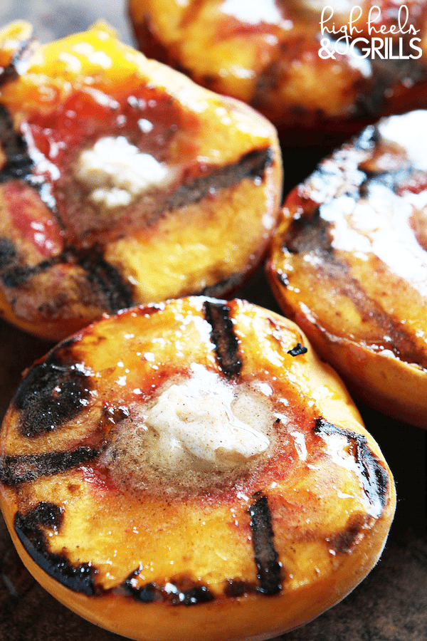 Cinnamon Sugar Grilled Peaches 4