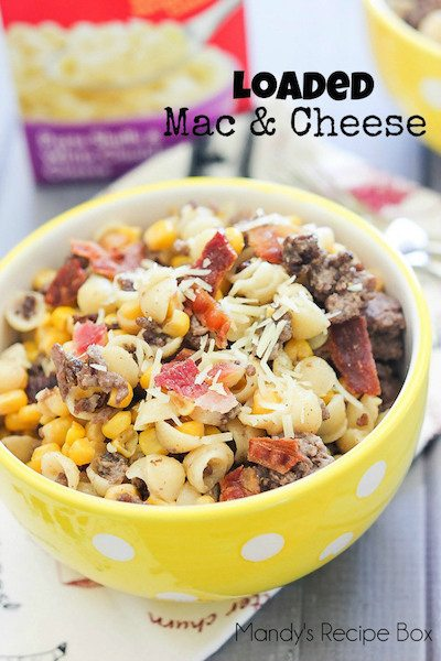 Loaded Mac and Cheese - Easy Meal Plan #9