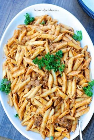 Stop Top Pastitsio - 30 Minute Back to School Meals