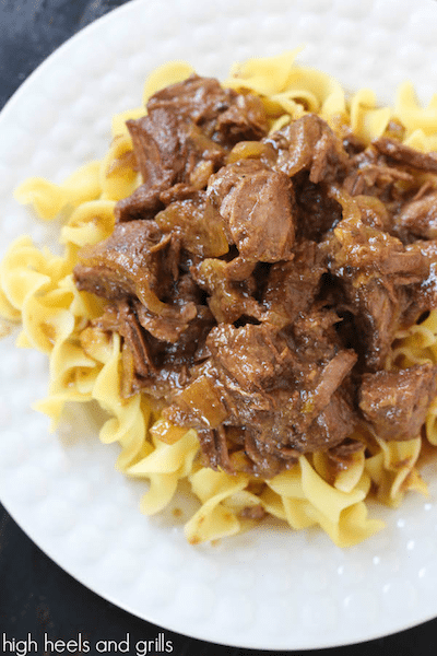 Root Beer Stewed Beef - Easy Meal Plan #8