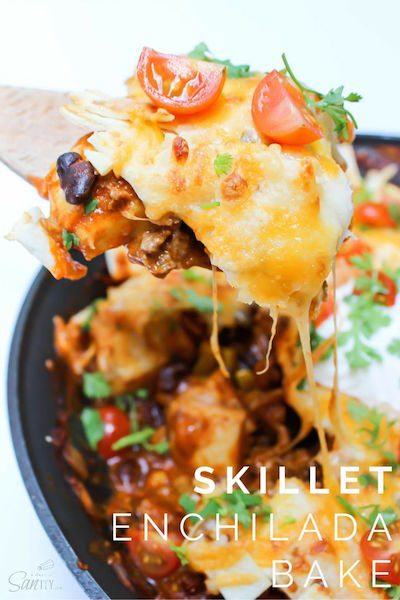 Skillet Enchilada Bake - Easy Meal Plan #10