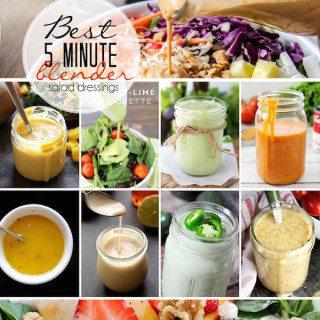 Best 5 Minute Blender Salad Dressing Recipes