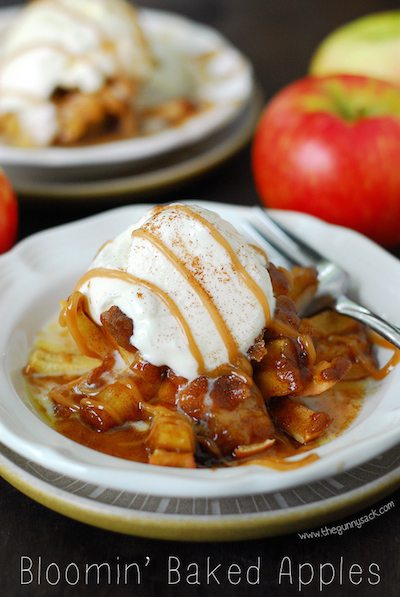 Bloomin' Baked Apples - Easy Meal Plan #12