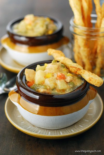 Chicken Pot Pie Soup - Easy Meal Plan #14