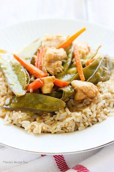 Velveted Chicken and Veggie Stir Fry - Easy Meal Plan #13