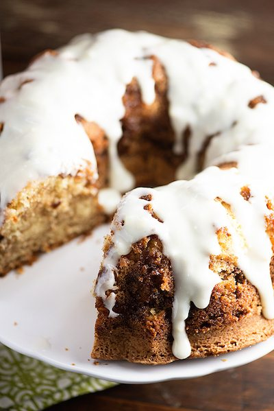 Cinnamon Roll Pound Cake - Easy Meal Plan #13
