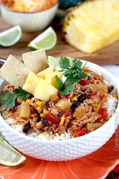 Sweet and Spicy Pineapple Salsa Chicken - Easy Meal Plan #13