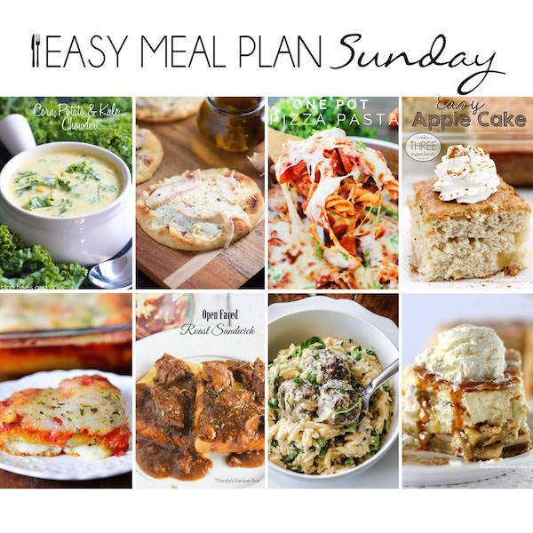 Easy Meal Plan #11