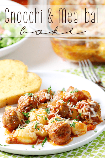 Gnocchi and Meatball Bake - Easy Meal Plan #19
