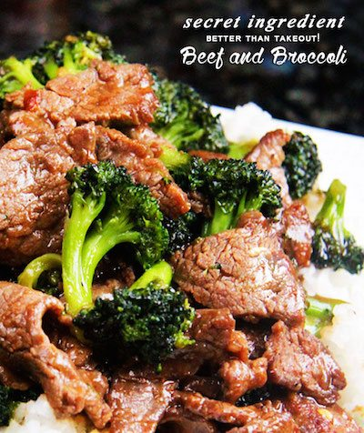 Secret Ingredient Beef and Broccoli - Easy Meal Plan #16