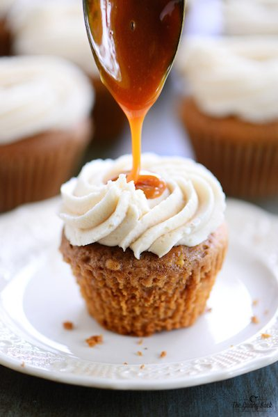 Caramel Apple Cupcakes - Easy Meal Plan #18