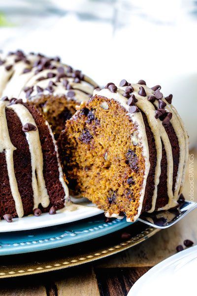 Chocolate Chip Pumpkin Pound Cake - Easy Meal Plan #19