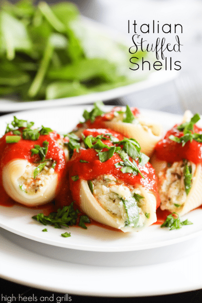 Italian Stuffed Shells - Easy Meal Plan #18