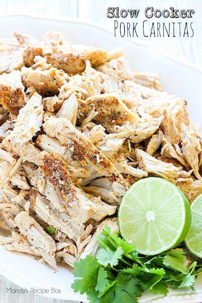 Slow Cooker Pork Carnitas - Easy Meal Plan #18