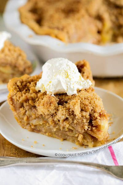Apple Crumb Pie - Easy Meal Plan #22