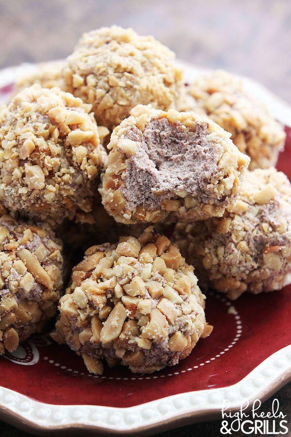 Chocolate Cream Peanut Balls