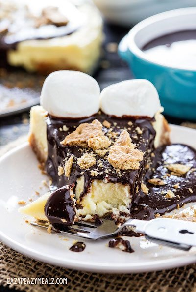 S'mores Cheesecake - Easy Meal Plan #22