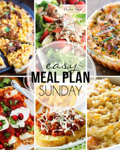 Easy Meal Plan #22