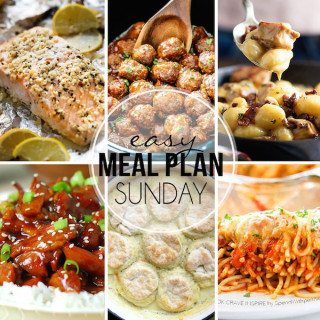 Easy Meal Plan #25