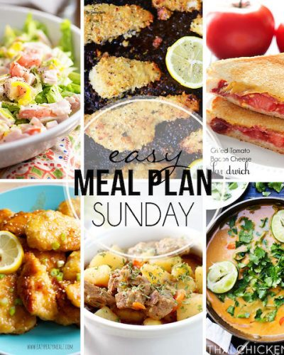 Easy Meal Plan #30