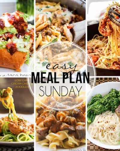 Easy Meal Plan #33