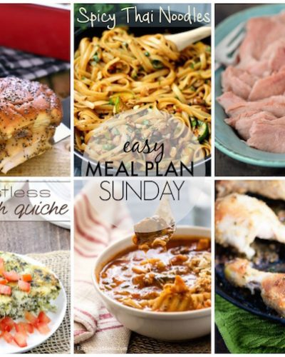 Easy Meal Plan #37