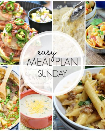 Easy Meal Plan #40