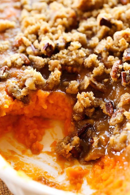 Best Thanksgiving Side Dishes - Sweet Potato Casserole Recipe