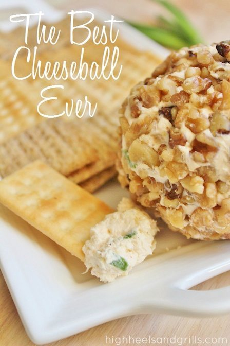 Best Appetizer Recipes - The Best Cheeseball Ever