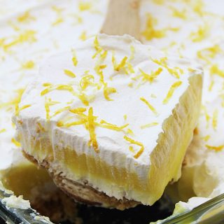 No Bake Lemon Layered Dessert