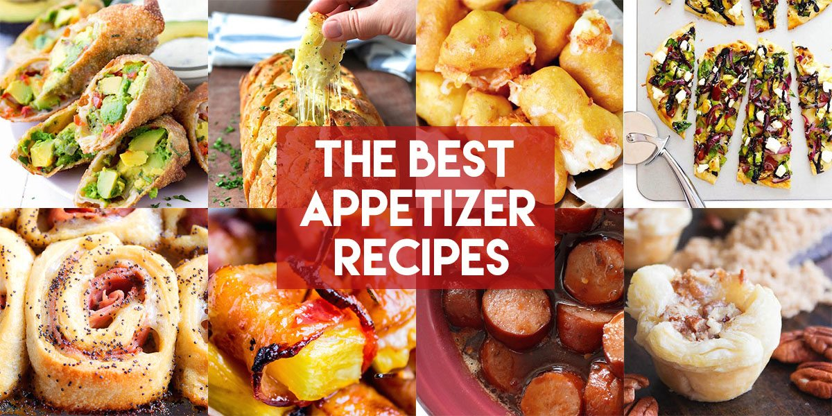 Best Appetizer Recipes Collage