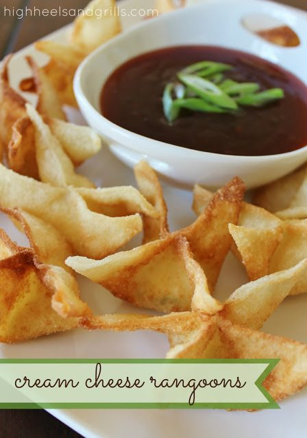 Best Appetizer Recipes - Cream Cheese Rangoons
