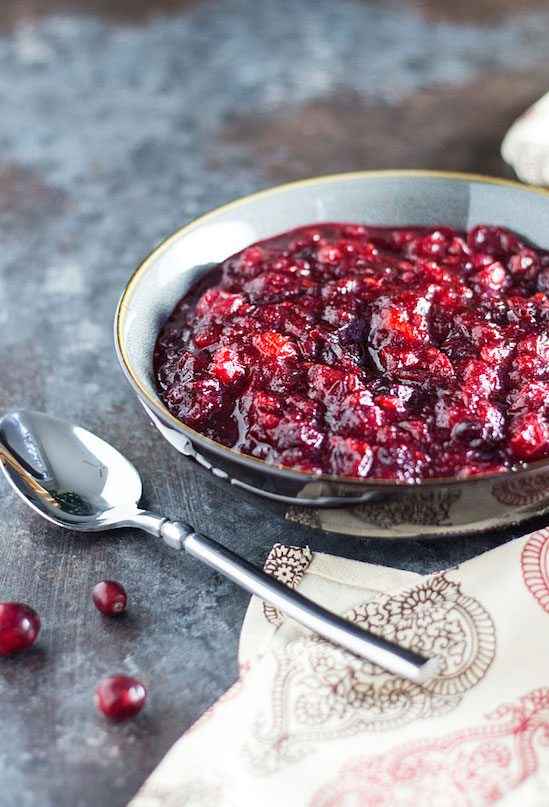 Best Thanksgiving Side Dishes - Homemade Cranberry Sauce Recipe